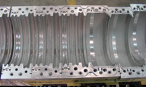 Corrugated Pipe Equipment: Molds and Mold Blocks